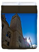 Courthouse Tower Duvet Cover
