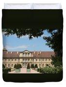 Courtyard Cloister Cluny Duvet Cover