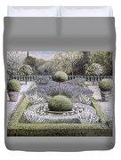 Courtyard Garden Duvet Cover