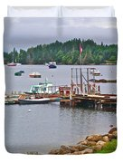Cove In Glen Margaret-ns Duvet Cover