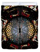 Coventry Cathedral Windows Montage Duvet Cover