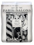 Cover For Art At The Paris Salons Duvet Cover