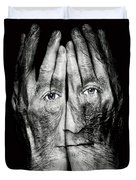 Cover Thy Faces Duvet Cover
