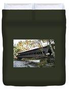 Covered Bridge Albany Duvet Cover