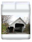 Covered Bridge - Woodstock Duvet Cover