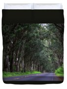 Covered By Trees Duvet Cover