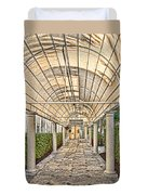 Covered Walkway Duvet Cover