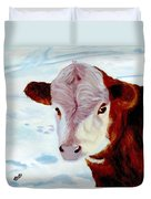 Cow A Bunga Duvet Cover