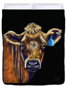 Cow Art - Lucky Number Seven Duvet Cover