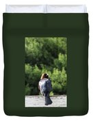 Cow Bird Duvet Cover
