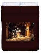 Cow On The Farm Duvet Cover
