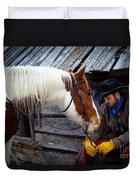 Cowboy Blues Duvet Cover