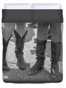 Cowgirl Boots  Duvet Cover