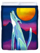 Coyote Azul Duvet Cover