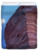 Coyote Buttes Moonrise Duvet Cover
