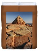 Coyote Buttes Rock Formation Duvet Cover