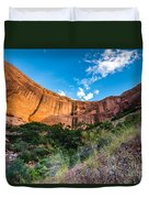 Coyote Gulch Sunset - Utah Duvet Cover