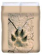 Coyote Print Duvet Cover