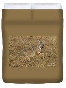 Coyote Running Duvet Cover