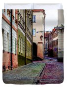 Cozy Old Town Duvet Cover