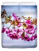 Crab Apple Tree Duvet Cover