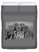 Crab Apples Duvet Cover