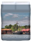 Crab Claw Discovery Duvet Cover