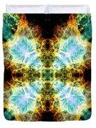 Crab Nebula V Duvet Cover