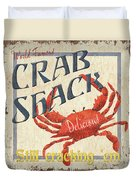 Crab Shack Duvet Cover