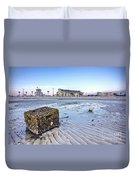Crab Trap Washed Ashore Duvet Cover