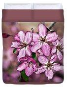 Crabapple Blossom Duvet Cover