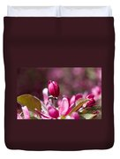 Crabapple Bud Duvet Cover