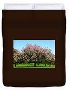 Crabapple Orchard Duvet Cover