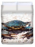 Crabby Crab Duvet Cover