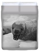 Crabeater Seal.. Duvet Cover
