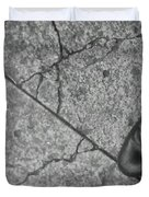 Crack In The Pavement Duvet Cover