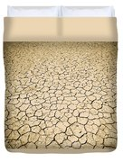 Cracked Ground Duvet Cover