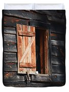 Cracker House Window Duvet Cover