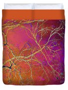 Crackling Branches Duvet Cover
