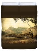Cradled By Time Duvet Cover