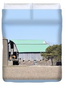 Craggy Old Barn Duvet Cover