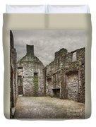 Craigmillar Castle Ruin Edinburgh Duvet Cover