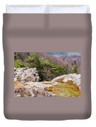 Craigs Of The Mountain Duvet Cover