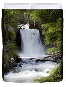 Crandel Creek Falls Duvet Cover