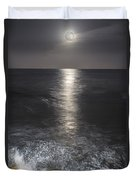 Crashing With The Moon Duvet Cover