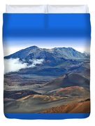 Craters And Cones Duvet Cover