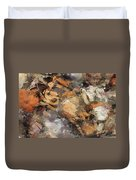 Crawfish Duvet Cover