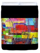 Crazy Abstract Duvet Cover