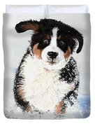 Crazy For Snow Duvet Cover