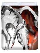 Crazy Horse 7 Duvet Cover